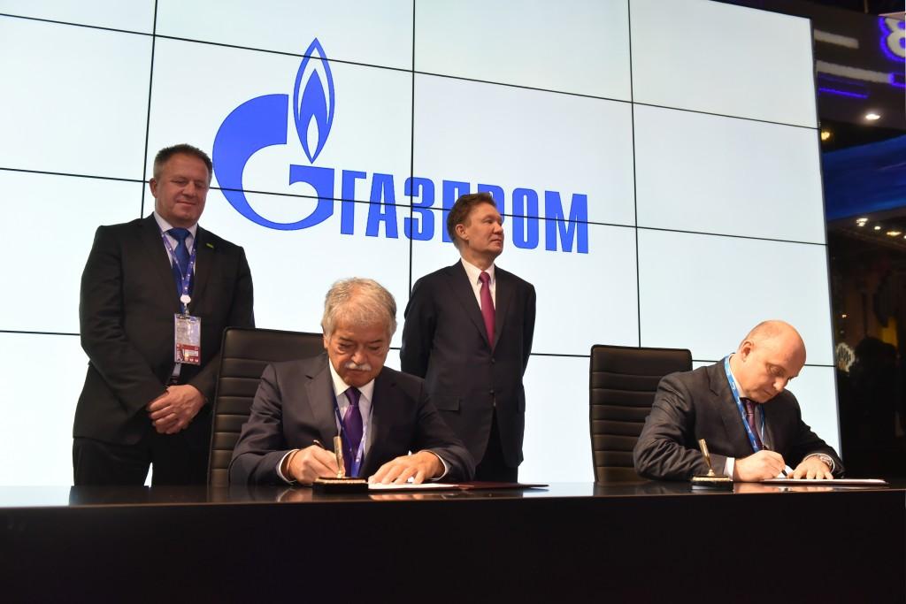 Gazprom, Comita, SPB